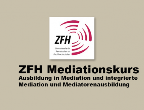 ZFH Mediationsausbildung